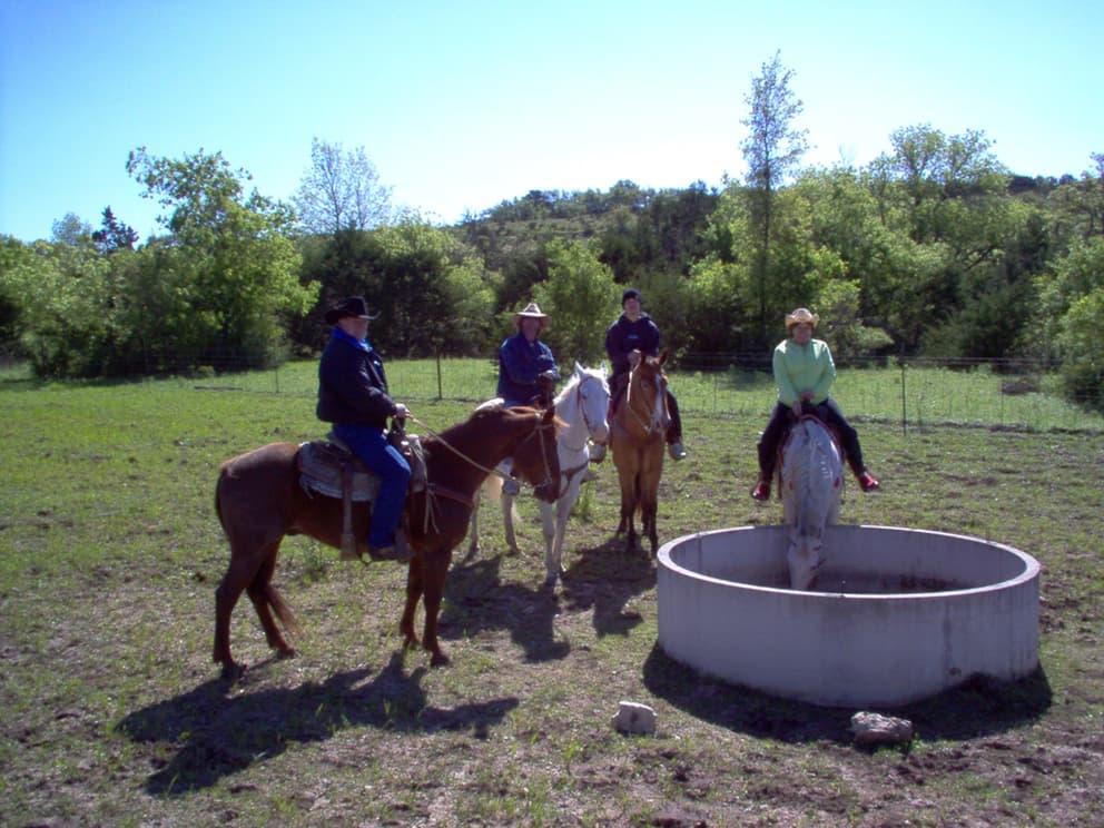 Cowboy Weight Loss Camp Guests