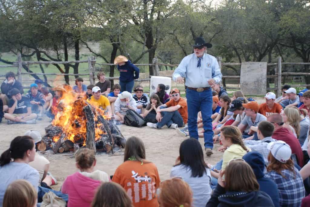 Bandera Camp Fire Stories