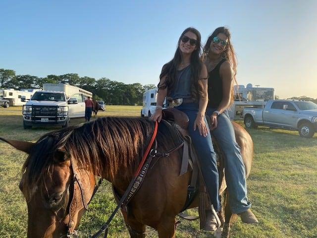 Savannah On A Horse